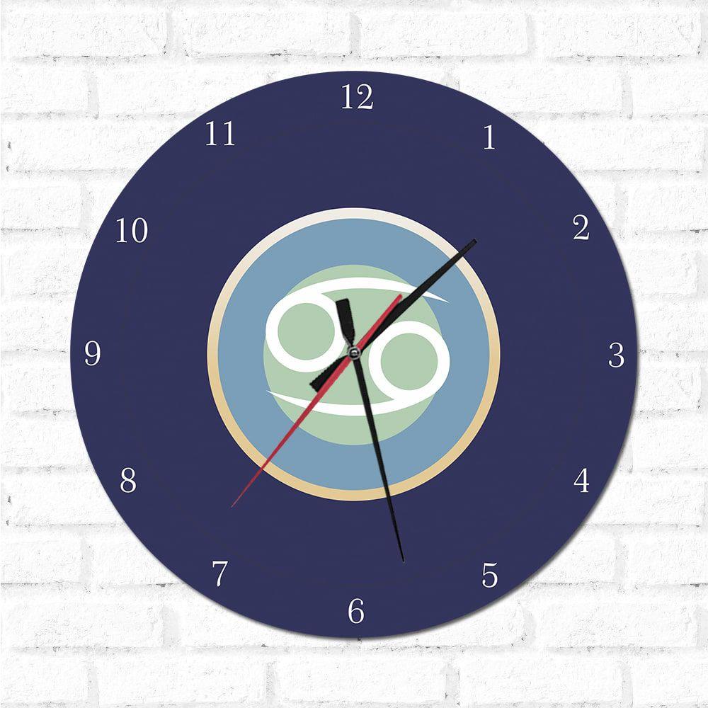 Relógio Decorativo Câncer