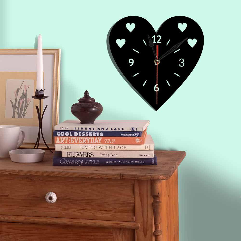 Relógio Decorativo Coração