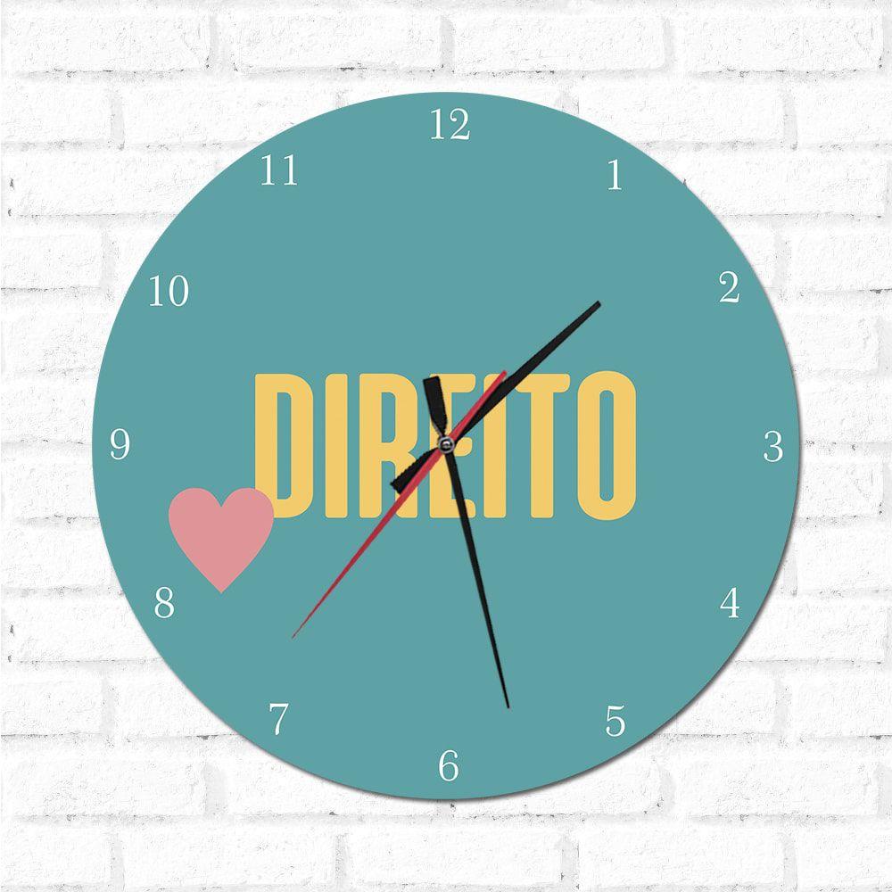 Relógio Decorativo Direito