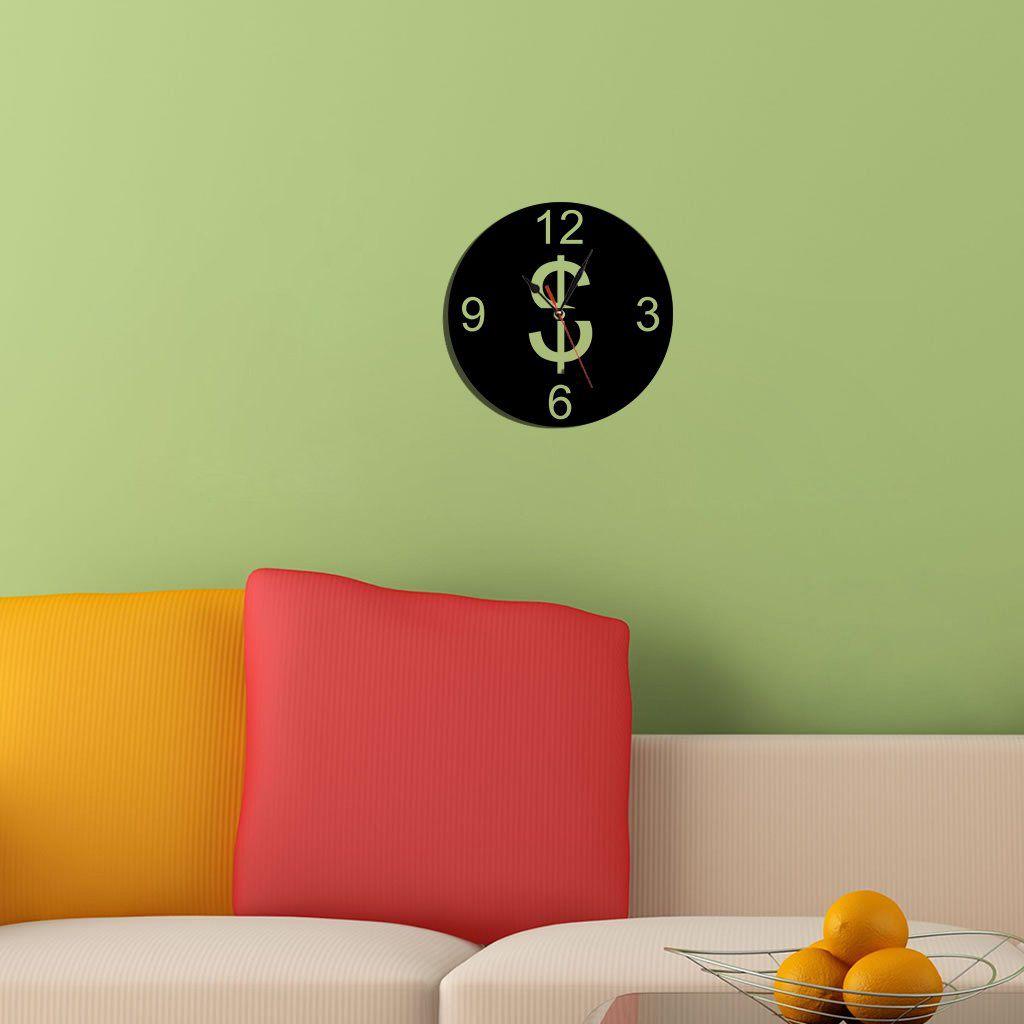 Relógio Decorativo Dollar