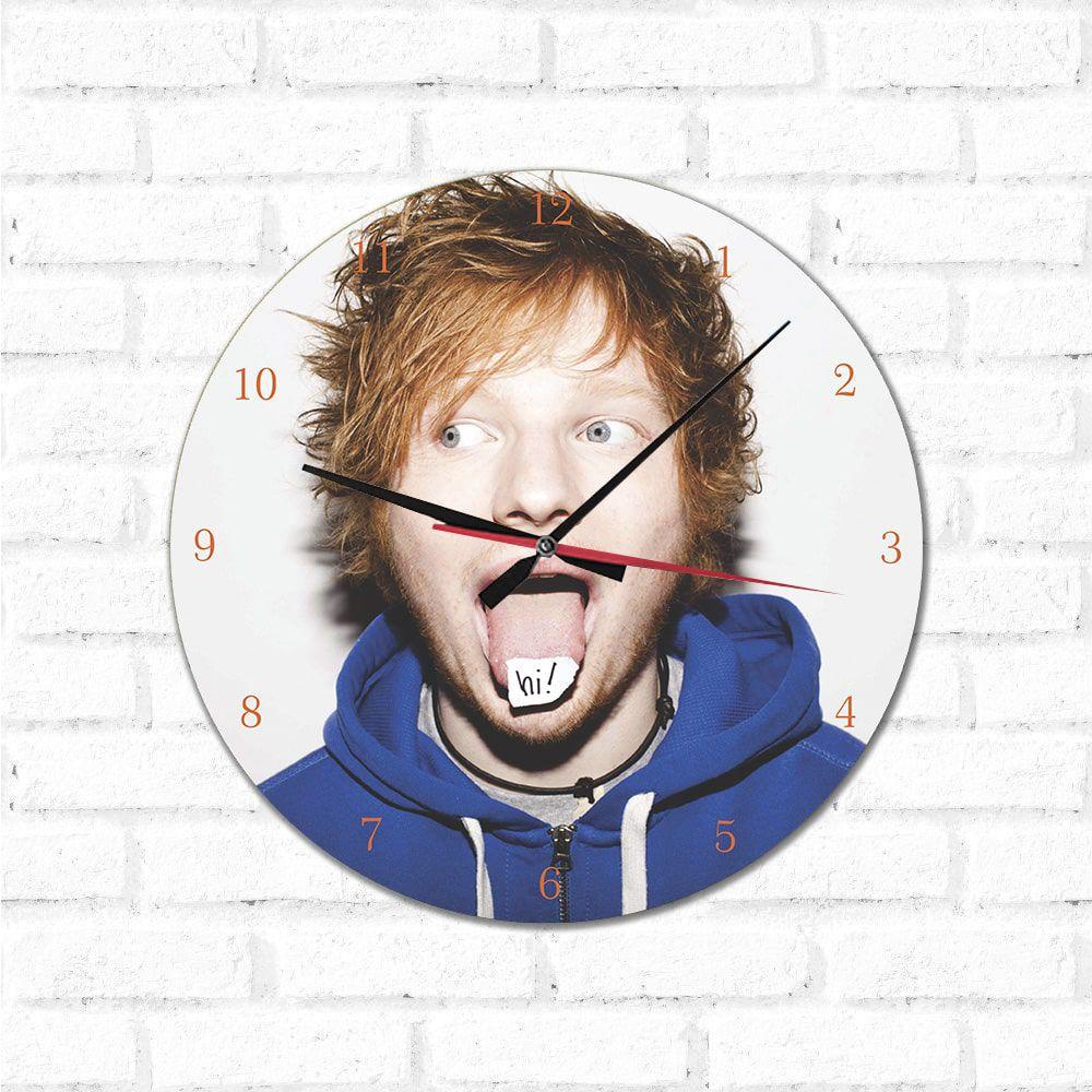 Relógio Decorativo Ed Sheeran