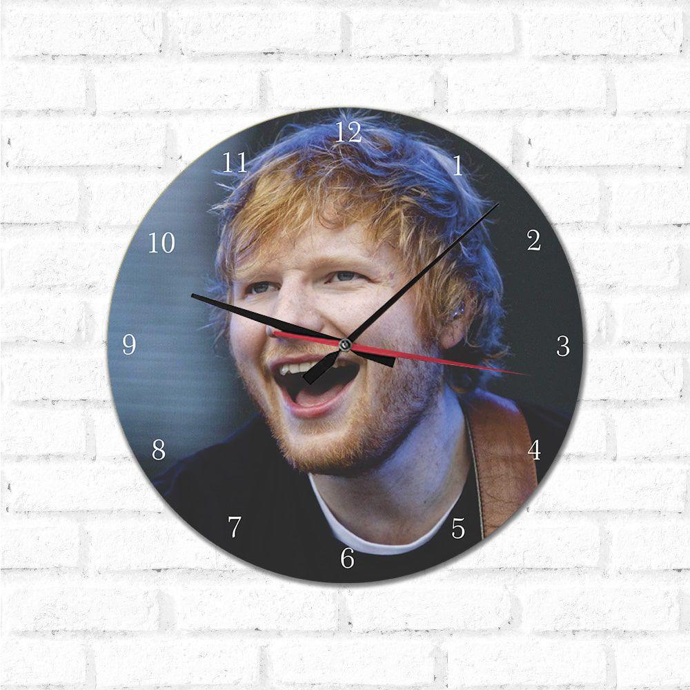 Relógio Decorativo Ed Sheeran 2