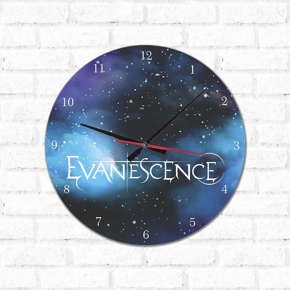 Relógio Decorativo  Evanescence