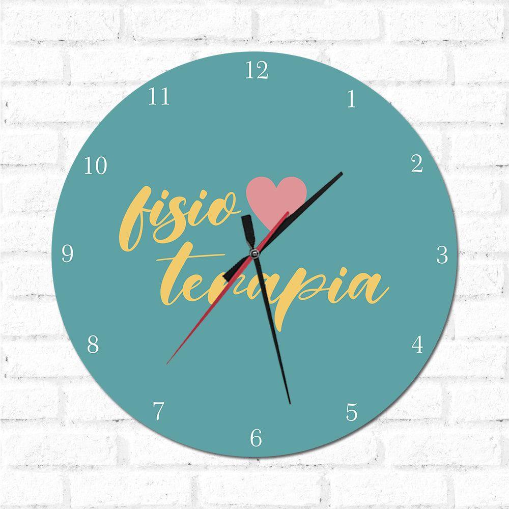 Relógio Decorativo Fisioterapia