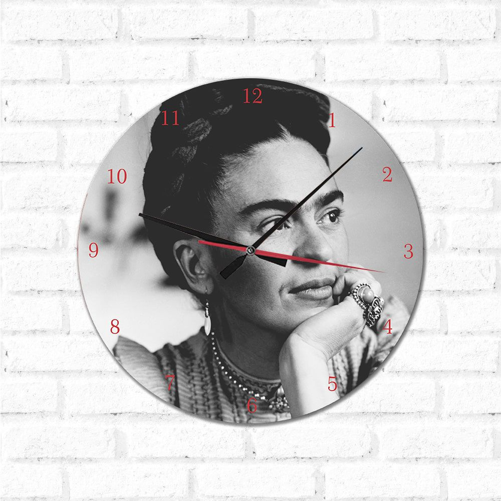 Relógio Decorativo Frida
