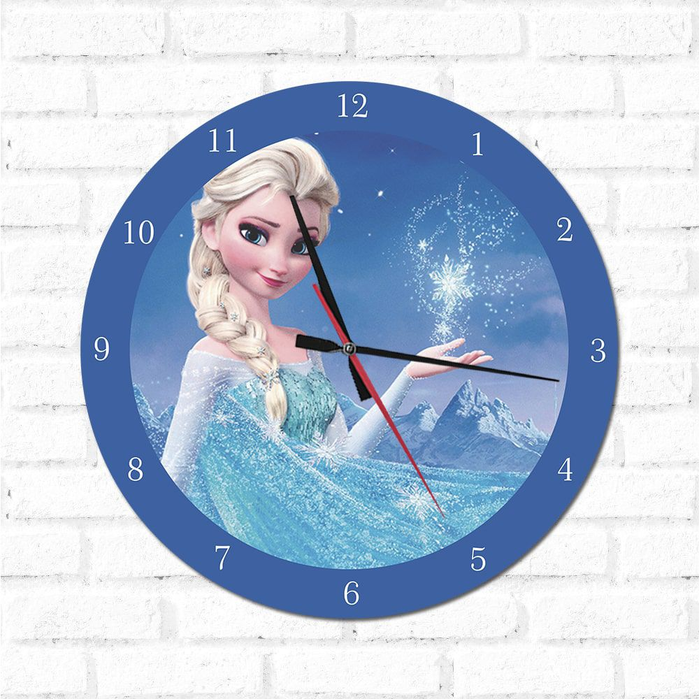 Relógio Decorativo Frozen
