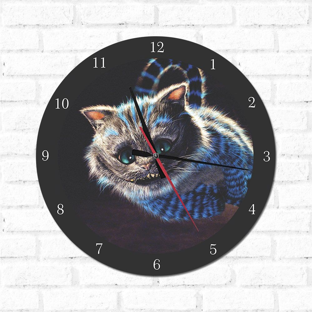 Relógio Decorativo Gato Risonho