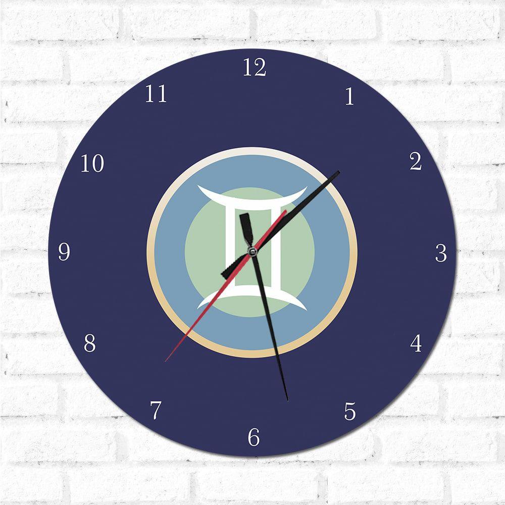 Relógio Decorativo Gêmeos