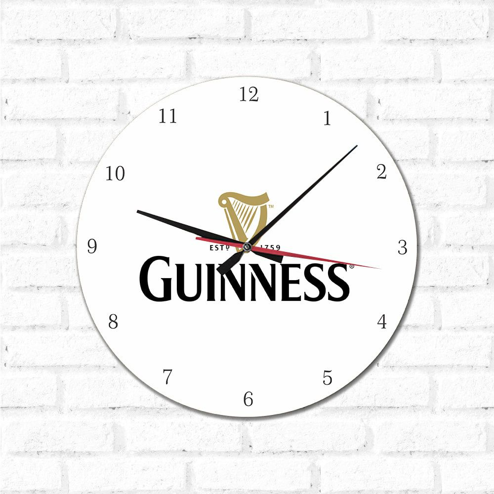 Relógio Decorativo Guinness