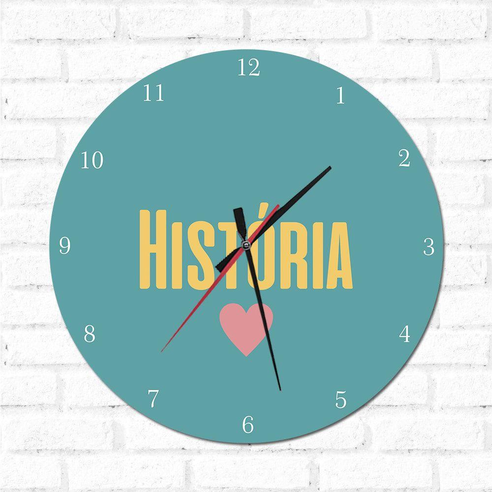 Relógio Decorativo História
