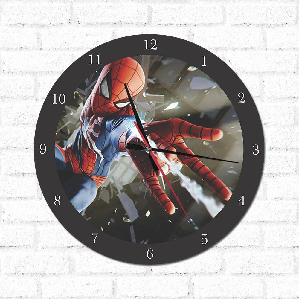 Relógio Decorativo Homem Aranha 1