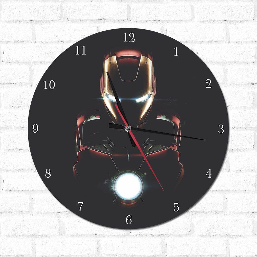 Relógio Decorativo Homem DE Ferro 1