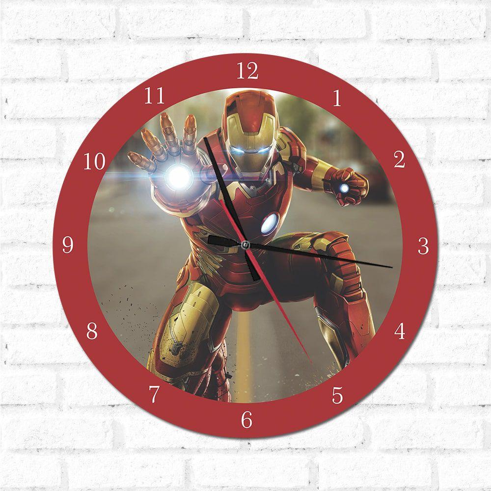 Relógio Decorativo Homem DE Ferro 2
