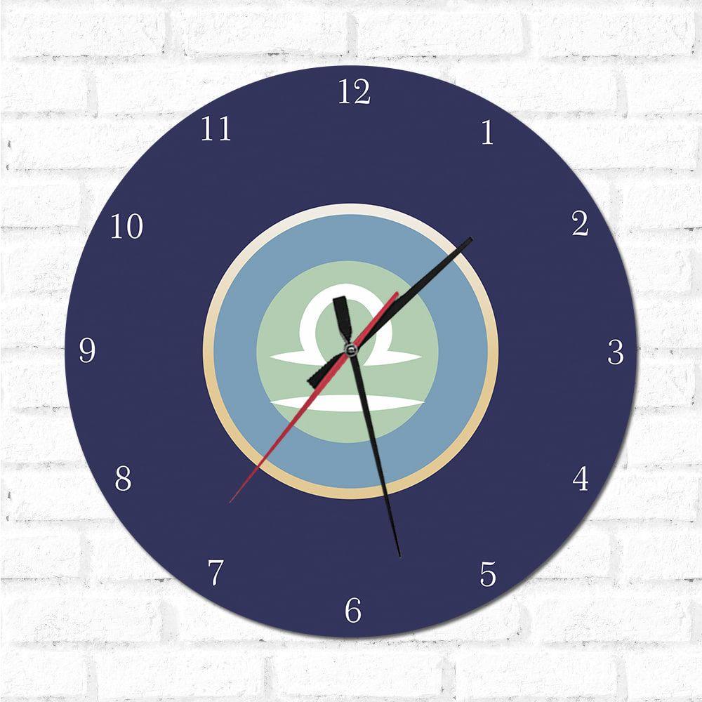 Relógio Decorativo libra