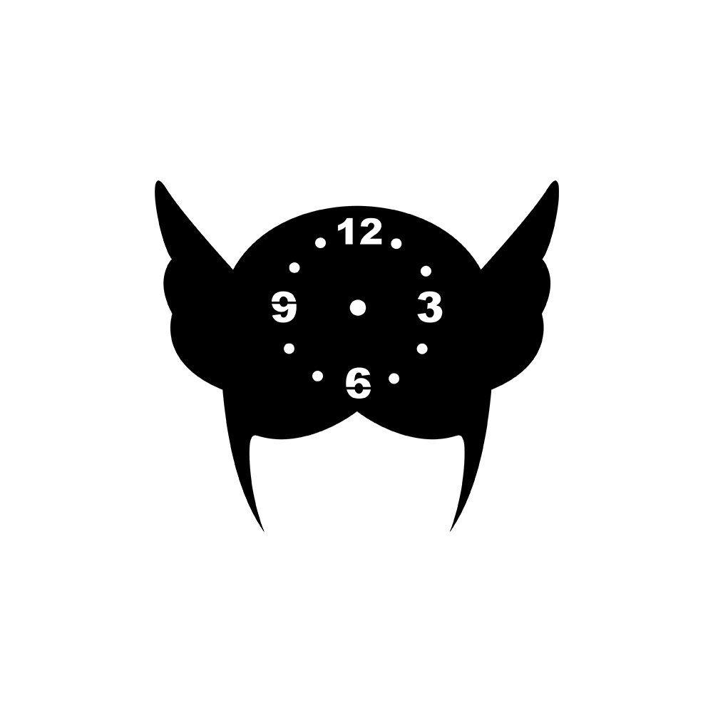 Relógio Decorativo Máscara 3