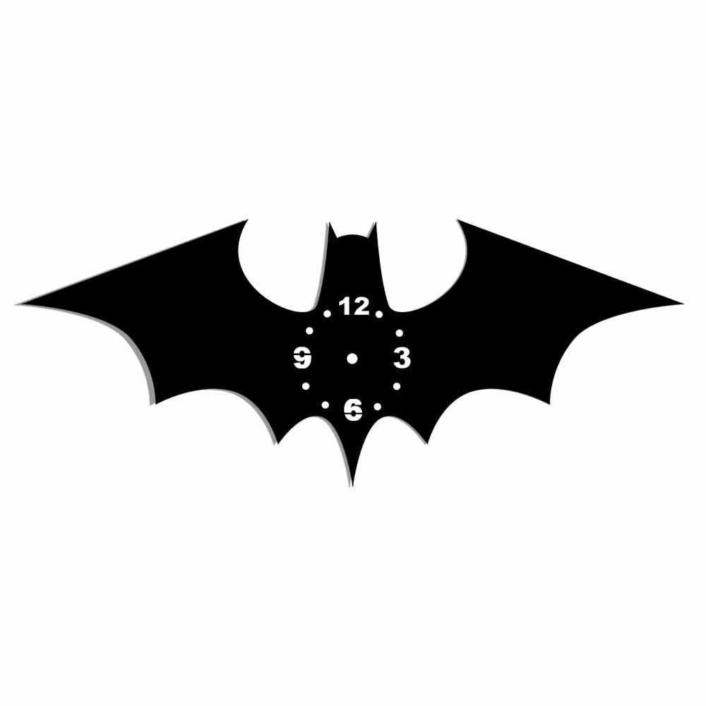 Relógio Decorativo Morcego