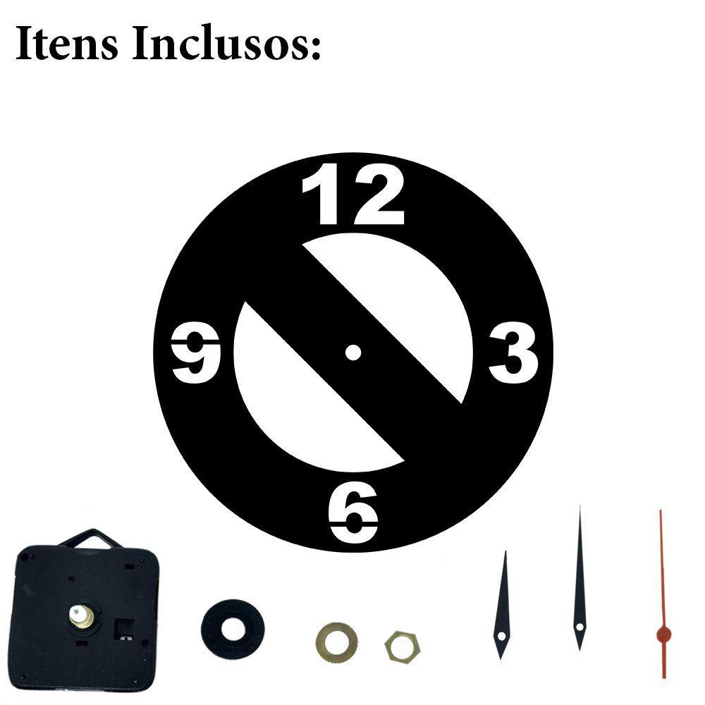 Relógio Decorativo Proibido