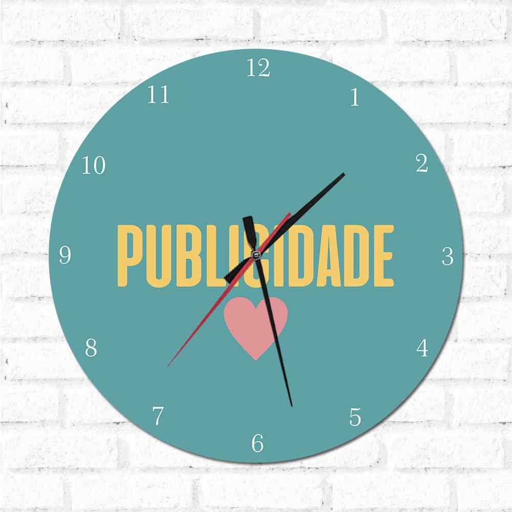 Relógio Decorativo Publicidade
