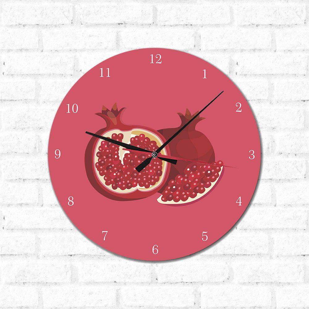 Relógio Decorativo  Romã