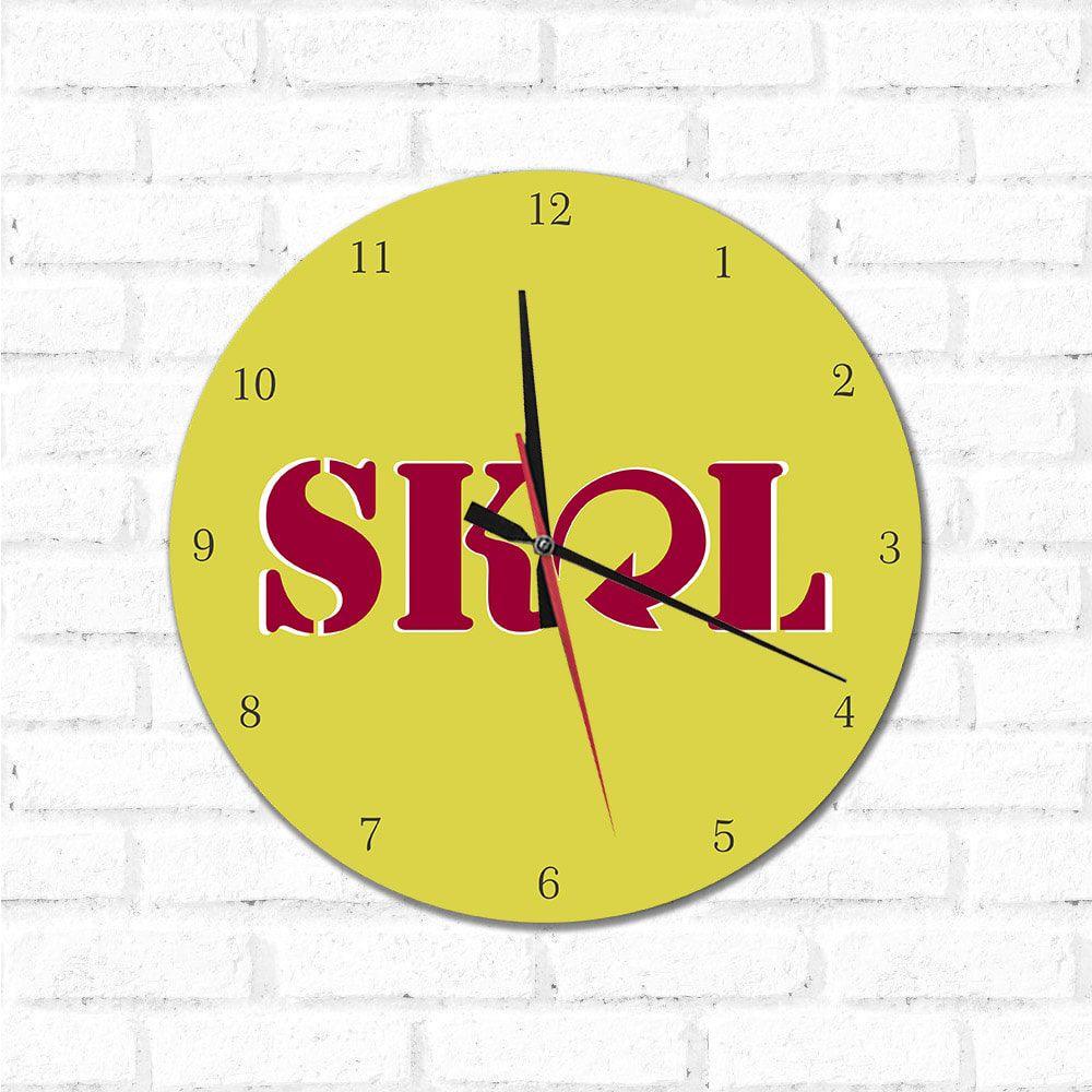 Relógio Decorativo Skol