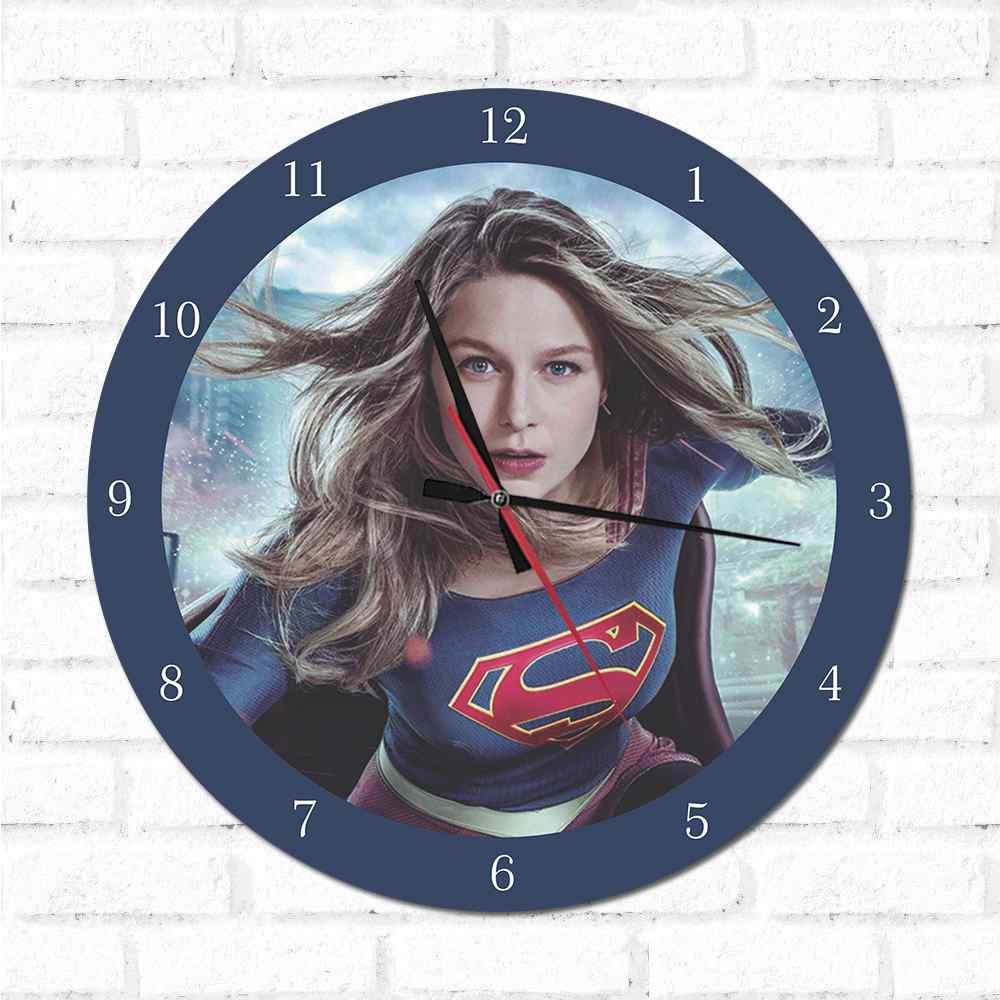 Relógio Decorativo Super Girl 1