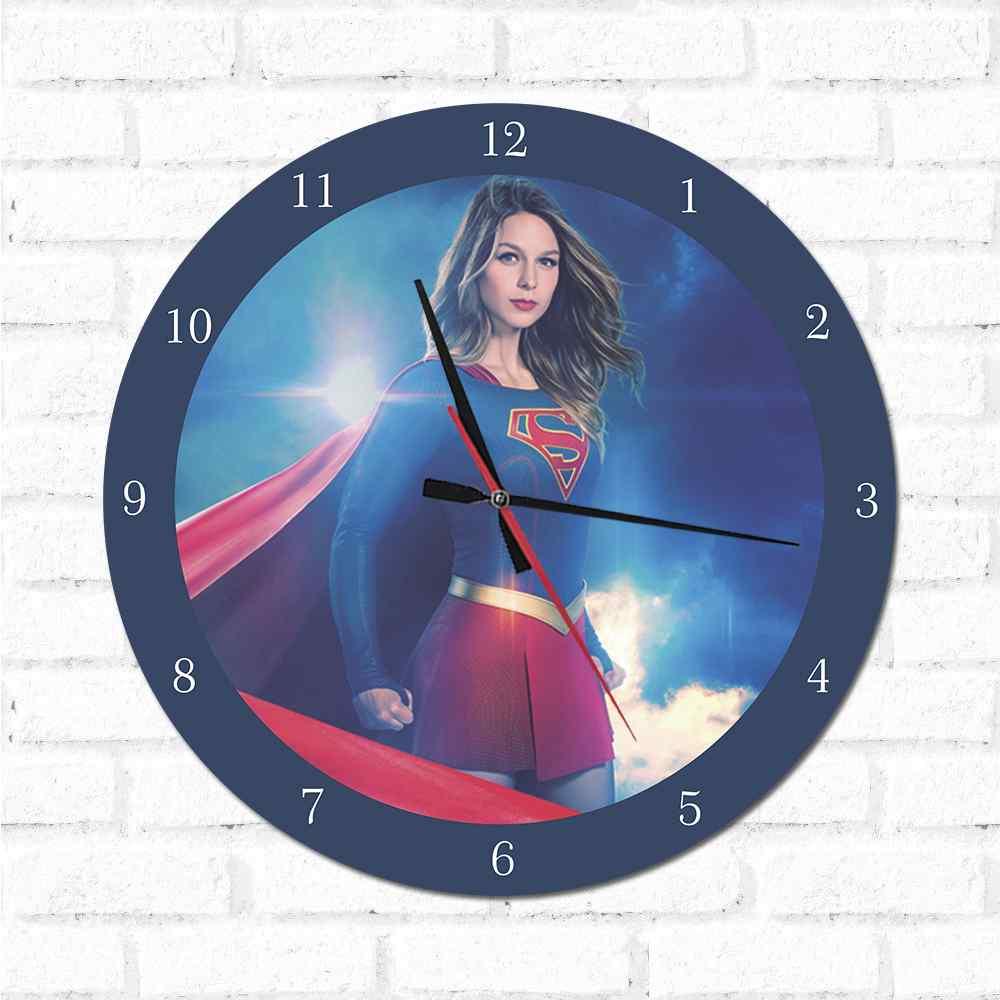 Relógio Decorativo Super Girl 2