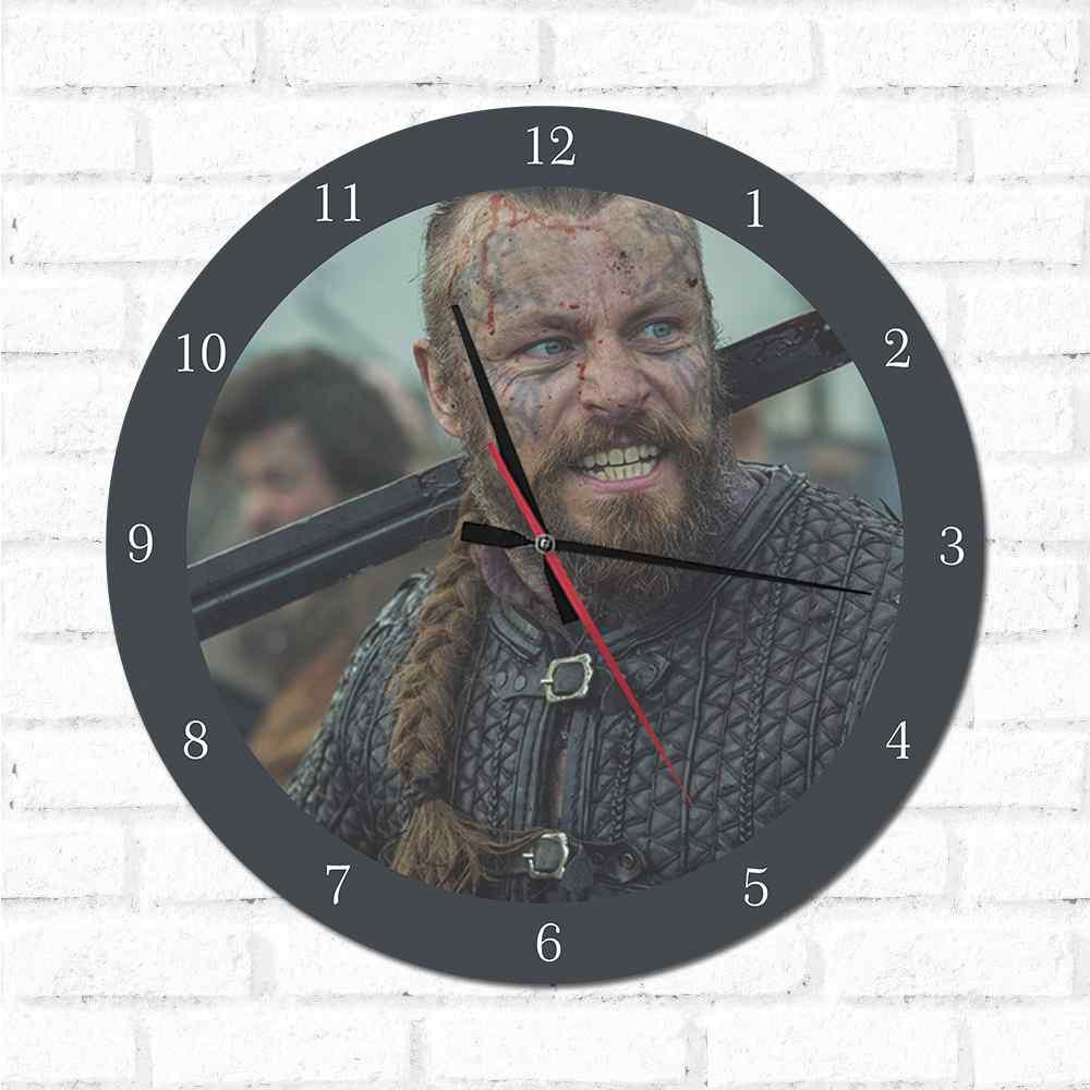 Relógio Decorativo Vikings2