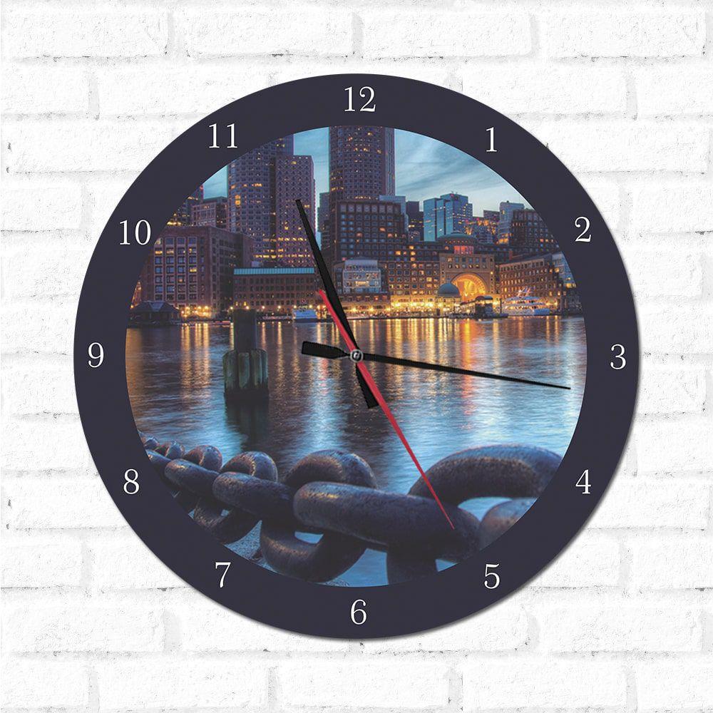 Relógio Massachusetts
