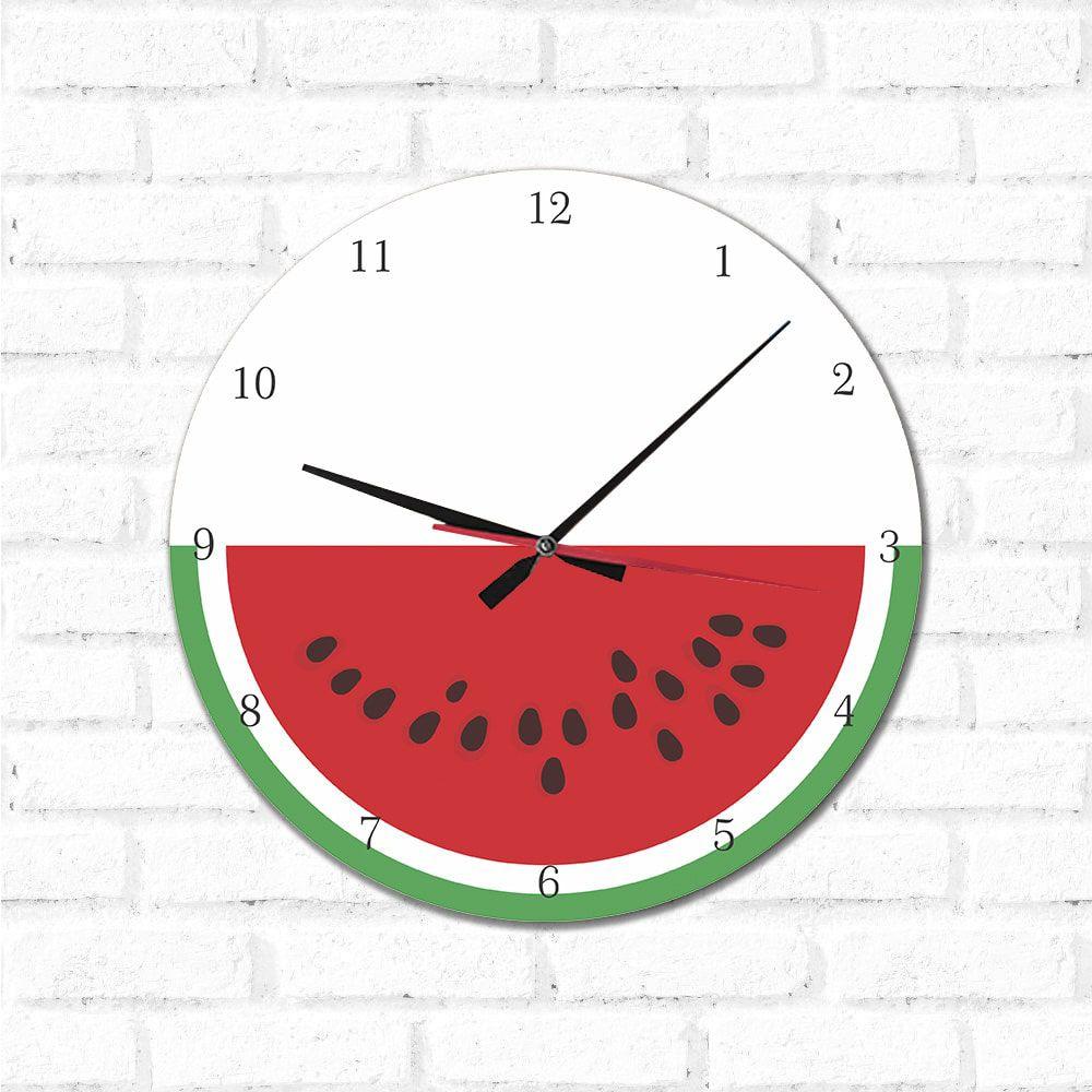 Relógio Decorativo Melancia