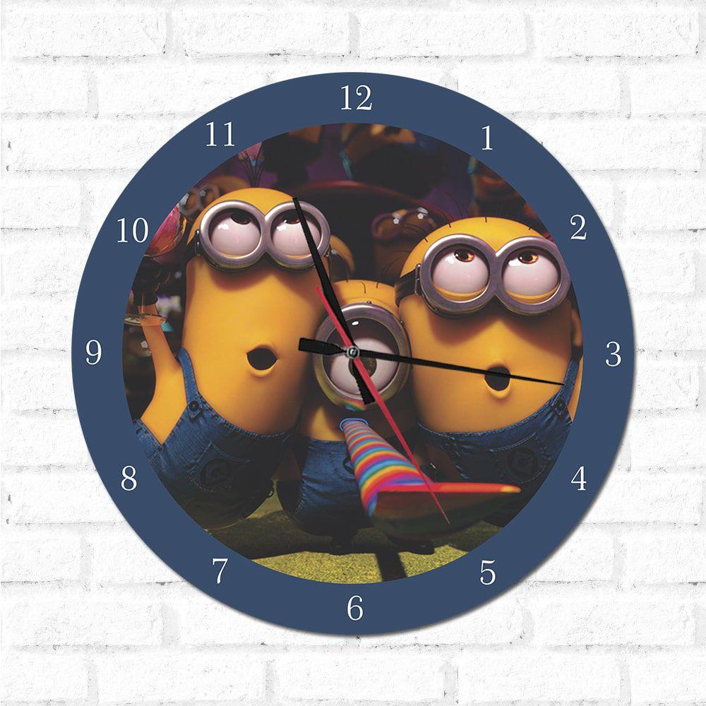 Relógio Minions 2