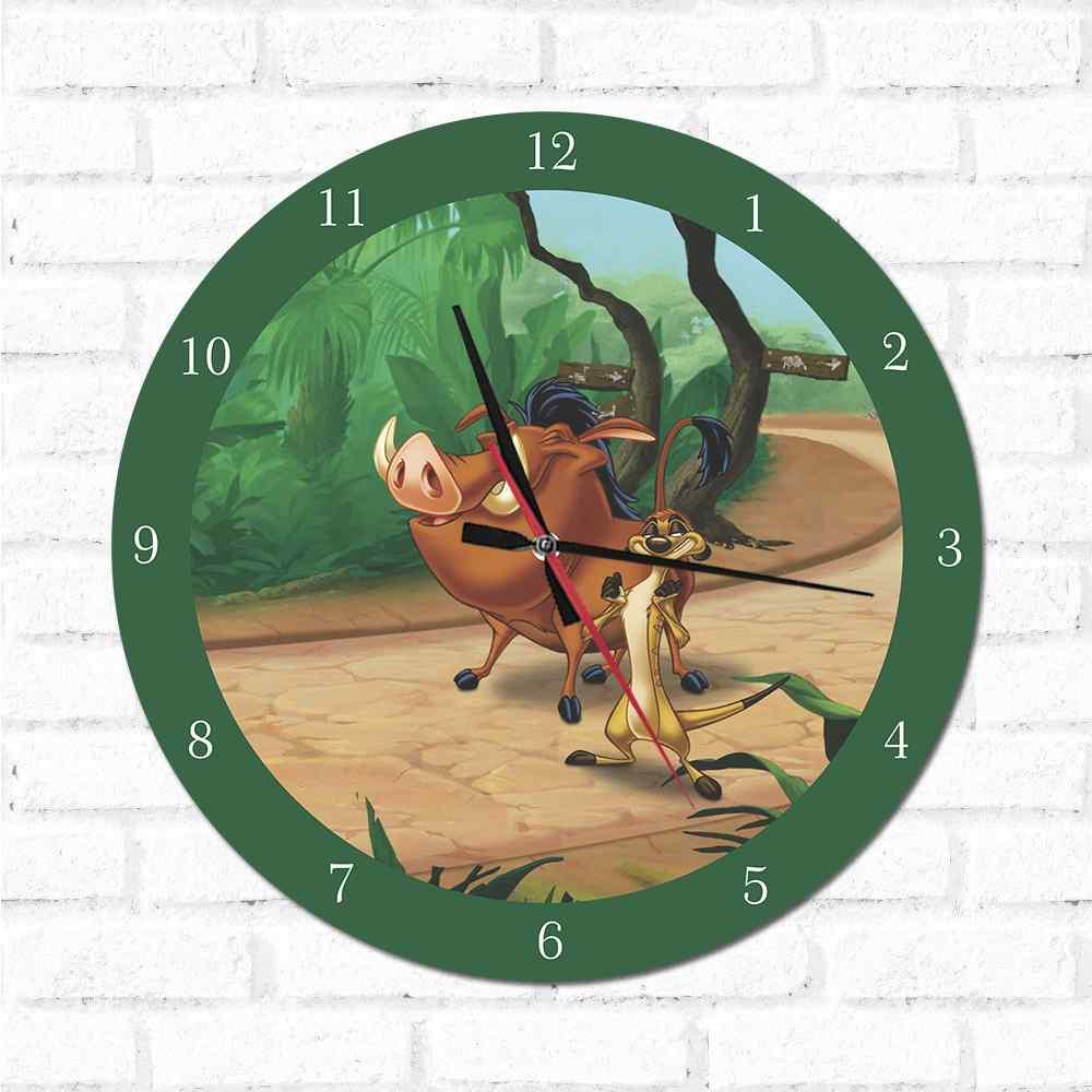 Relógio Timão e Pumba