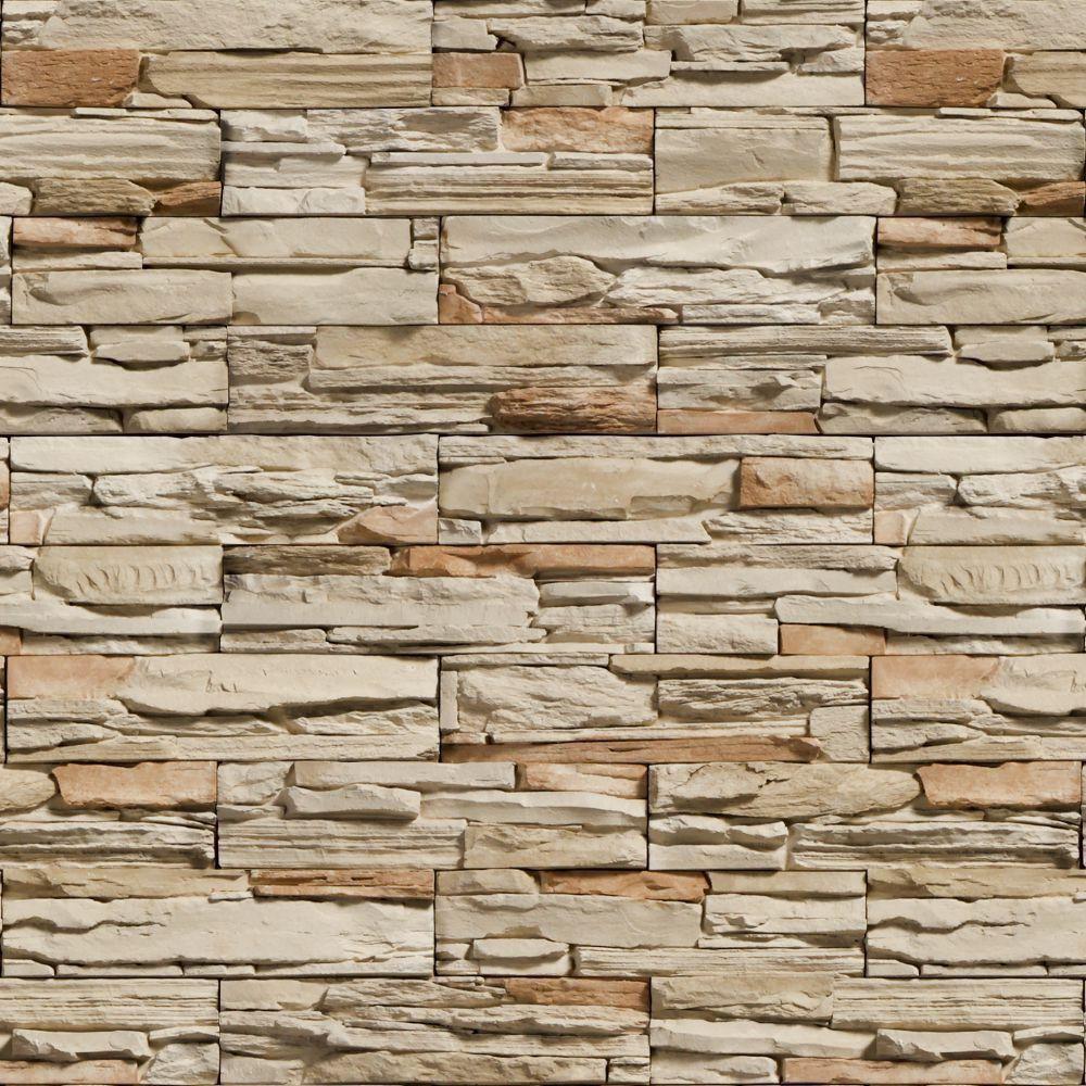SALDÃO -  Papel de Parede Pedras Canjiquinha 05 0,60x2,50m