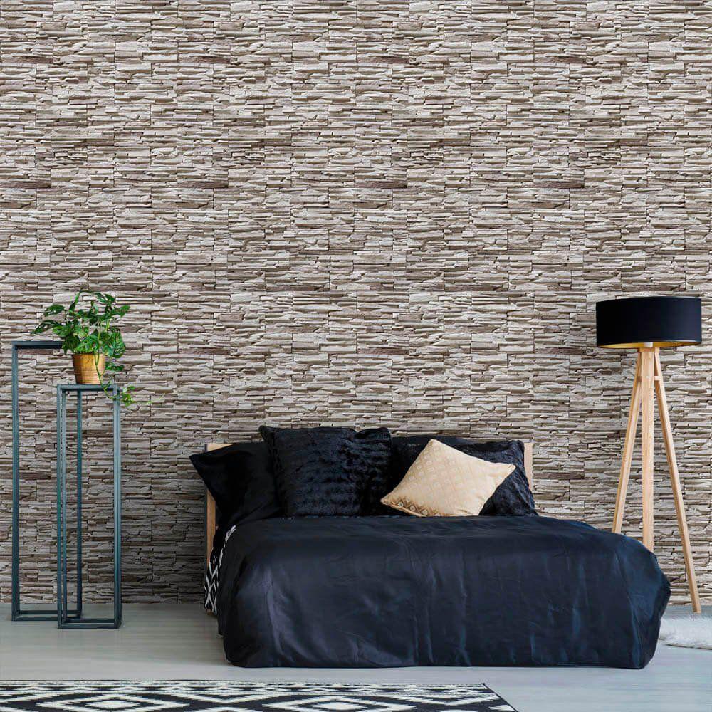 SALDÃO -  Papel de Parede Pedras Canjiquinha 13 0,60x2,50m