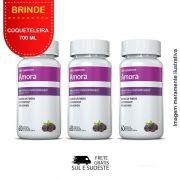 Amora Miura 03 Potes Inove Nutrition c/ 60 cápsulas cada. + Brinde Coqueteleira 700 ML Inove Nutrition