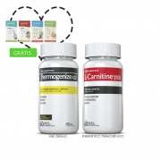 Combo 01 L-Carnitina + 01 Thermogenize®420 c/ 60 cápsulas cada + (grátis) Moove Slim + Moove Hydrate + 10% off