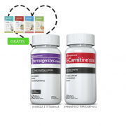 Combo 01 L-Carnitina + 01 Thermogenize®Femme c/ 60 cápsulas cada + (grátis) Moove Slim + Moove Hydrate + 10% off