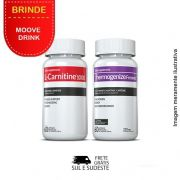 Combo 01 L-Carnitina + 01 Thermogenize®Femme Inove Nutrition c/ 60 cápsulas cada + Brinde Moove Slim + Moove Hydrate
