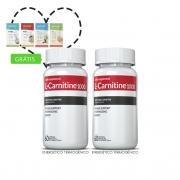 Combo L-Carnitina 02 potes c/ 60 cápsulas cada + (grátis) Moove Slim + Moove Hydrate + 10% off