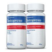 Combo Testopro500® Inove Nutrition 02 potes c/60 cápsulas cada + Brinde Moove Energy  + Moove Hydrate.