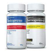 Combo 01 Testopro500® + 01 Thermogenize®420 Inove Nutrition c/ 60 cápsulas cada + Brinde  Moove Slim + Moove Hydrate.