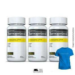 Combo Thermogenize®420 Inove Nutrition 03 Potes c/ 60 cápsulas cada. + Brinde Moove Slim + Moove Fiber + Moove Energy + Moove Hydrate + Camiseta Inove Nutrition