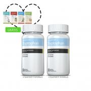 Combo Triptofano 02 Potes c/ 30 cápsulas + (grátis) Moore Energy Tangerina + Moore Slim Uva + 10% off