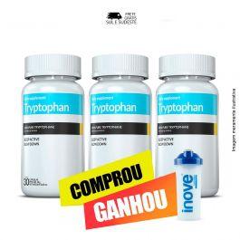 Combo Triptofano Inove Nutrition 03 Potes c/ 30 cápsulas + Brinde Moove Energy + Moove Hydrate + Moove Slim + Moove Fiber + Coqueteleira Inove Nutrition 600 ML