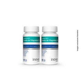 Kit Cloreto de Magnésio P.A  Inove Nutrition 02 potes  c/ 60 cápsulas