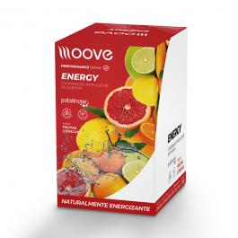 Moove Energy - Frutas Cítricas - Display c/ 12 Sachês