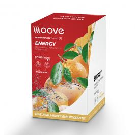 Moove Energy - Tangerina - Display c/ 12 Sachês