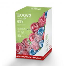 Moove Fiber - Frutas Vermelhas - Display c/ 12 Sachês