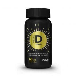 Vitamina D 2.000 ui - C/ 60 cápsulas softgel.