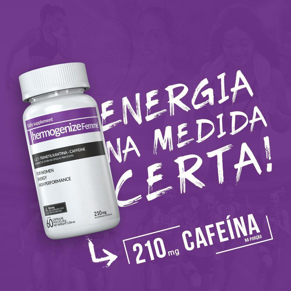 Thermogenize®Femme  c/ 60 cápsulas.   - INOVE NUTRITION