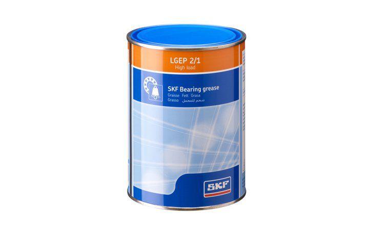 Graxa de Alta Resistência a Carga e Extrema Pressão LGEP 2/1 Lata com 1 Kg - SKF